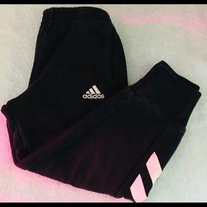 Adidas Boy Black/White Sweatpant